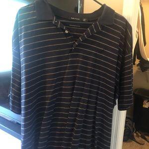 Nautical casual men's shirt